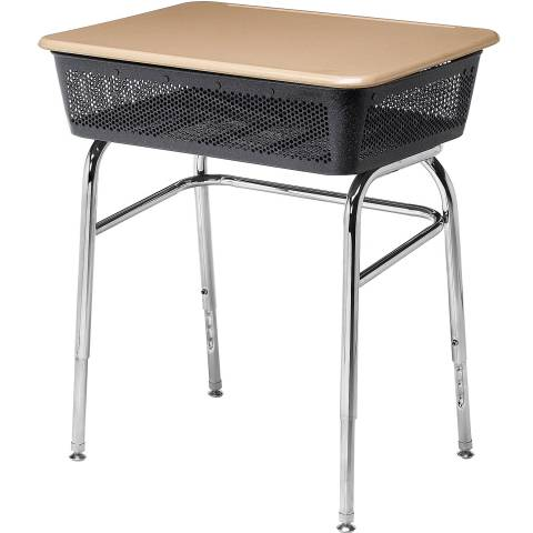 361 Lift Lid Desk with perforated box