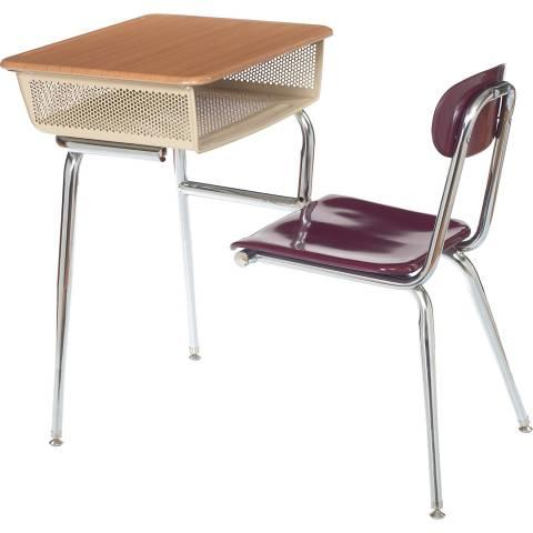 583 Open Front Desk Combo