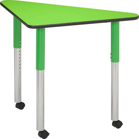Quarter Pie Table with galaxy legs