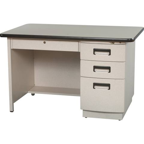 9019 Single Pedestal Desk