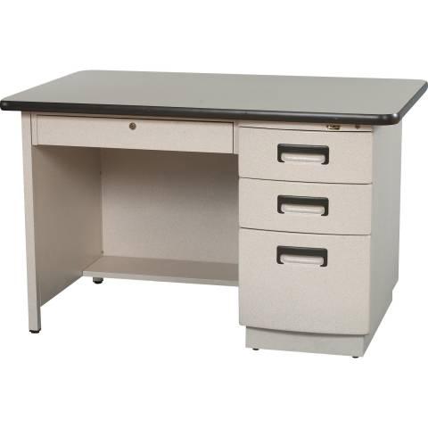 9019 Single Pedestal Desk