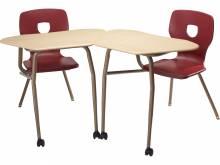 Silhoflex Chair/Desk Combo - Collaborative