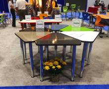 Columbia Booth at EDSPACES2017