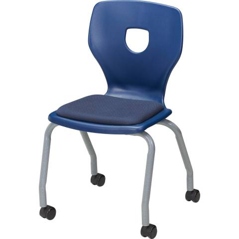 Silhoflex Upholstered Mobile Chair